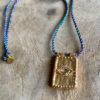 Collier Amulette Plaque